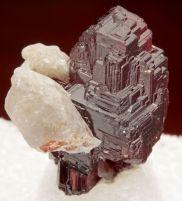 Spessartine Navegador mine, Minas Gerais, Brazil 15mm tall