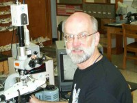 Julian Gray in the geology department of Georgia State University
